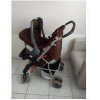 Carrinho De Bebê Tutti Baby Thor Plus Rosa + Bebê Conforto -  - TUTTI BABY