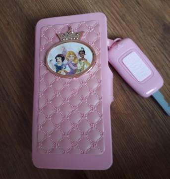 Celular de Brinquedo das Princesas - Sem faixa etaria - Não informada