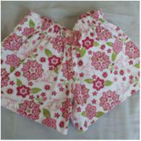 Shorts florido super fofo - 3 anos - Não informada