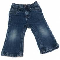 Calça Jeans Flare - 9 a 12 meses - Cherokee