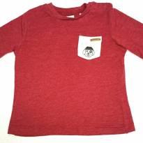 Camiseta Zara Baby com bolso - 3 a 6 meses - Zara Baby e Zara
