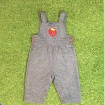 Macacão malha tipo jeans - 18 meses - Valutin