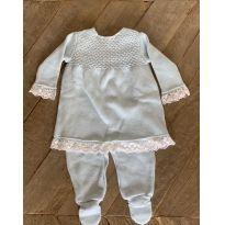 Saída de maternidade azul claro - Recém Nascido - Dolce Abbraccio