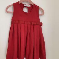 vestido vermelho - silmara - 1 ano - Silmara