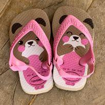 Havaianas infantil ursinho