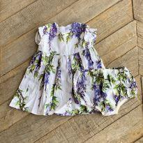 Vestido florido Dolce & Gabbana - 9 a 12 meses - Dolce & Gabbana Junior