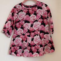 Vestido estampa flores Baby Gap - 18 a 24 meses - Baby Gap