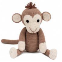 Macaco de crochê -  - Não informada