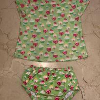 Conjunto de calcinha de banho e camiseta UV da iPlay - 12 a 18 meses - Iplay