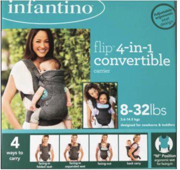 Canguru importado Infantino - Sem faixa etaria - Infantino