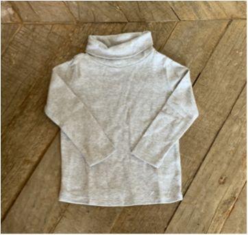 Camiseta GAP cinza mescla - 18 a 24 meses - Baby Gap