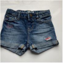 Shorts jeans Baby Gap - 18 a 24 meses - Baby Gap
