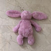Coelho de pelúcia rosa da Jellycat