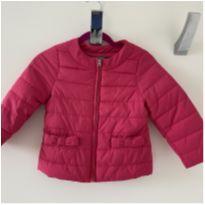 Jaqueta de nylon pink