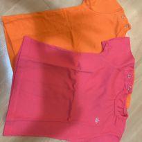 Camisetas Mini Bear - alaranjada - 9 a 12 meses - Outras