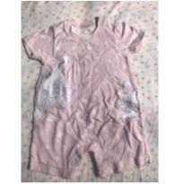 Macacão Mini Kids - Tamanho P (3/6 meses) - 3 a 6 meses - Mini & Kids