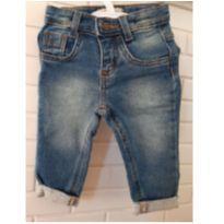 Calça jeans bebê 3 a 6 meses - 3 a 6 meses - Teddy Boom
