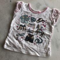 Blusa Lilica cowntry - 6 a 9 meses - Lilica Ripilica