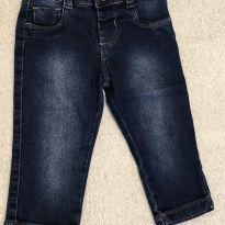 Calça jeans com botão - G - 9 a 12 meses - yoyo Baby