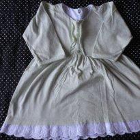 Vestido de poa - 6 a 9 meses - Basic + Baby