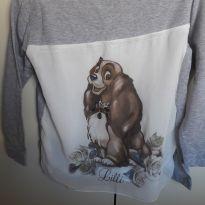 Camiseta manga longa - 4 anos - Monaliza