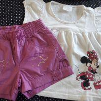 Conjunto charmoso - 18 a 24 meses - Disney e Pakita