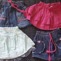 Lote de saias - 3 anos - Sem marca