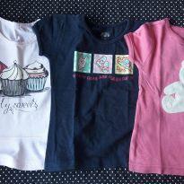 Lotinho de camisetas - 24 a 36 meses - Baby Gap e Toys & Kids