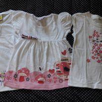 Lote de camisetas - 2 anos - Alakazoo! e Jaca lele