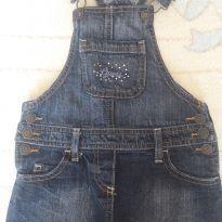 Jardineira jeans importada - 4 anos - Guess