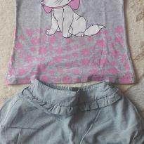 Conjunto gatinha marie - 4 anos - Disney e Alakazoo!