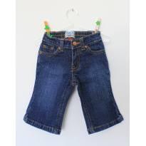 Calça Jeans Place 6/9 meses - 6 a 9 meses - Place