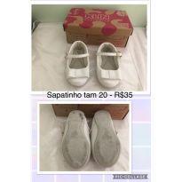 Sapato Klin Branco TAM20 - 20 - Klin