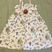 Vestido florido tam1 - 1 ano - Não informada