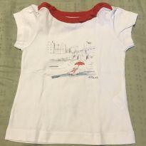 Camiseta branca Jacadi 18m - 18 meses - Jacadi Paris