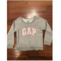 Moletom baby GAP cinza TAM3 - 3 anos - Baby Gap