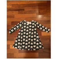 Vestido de coelhinho Jeca-Lelé TAM4 - 4 anos - Outro