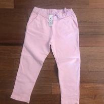 Calça moletom rosa carters TAM3 - 3 anos - Carter`s