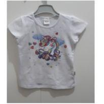 Blusa manga curta unicórnio - 6 anos - Elian