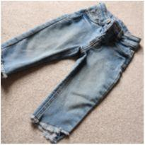 Calça Jeans Bebê Menina - 9 a 12 meses - cea e outro