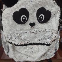 Mochila Panda Paetê -  - Bagaggio