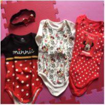 Trio da minnie - 6 a 9 meses - Disney e Disney baby