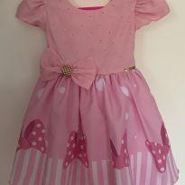 Vestido Minnie Festa -  - Minnie