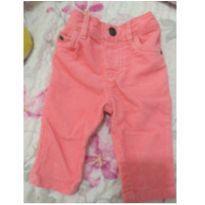 calça rosa em cotele da carter`s no tamanho p - 0 a 3 meses - carter`s, baby gap, zara
