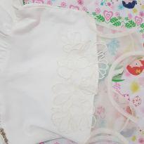 Vestido off White floral infanti - 4 anos - Infanti