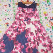 Vestido floral infanti - 4 anos - Infanti