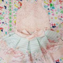 Conjunto festa blusa cropped petit cherie - 4 anos - Petit Cherie