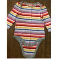 Body Baby Gap Listradinho - 12 a 18 meses - Baby Gap
