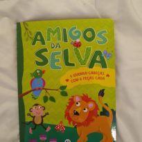 Livro quebra-cabeça selva -  - Ciranda Cultural