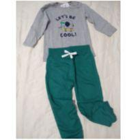 Conjunto moletinho - 9 a 12 meses - Baby Club